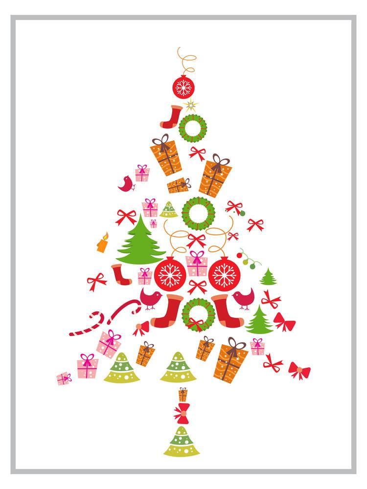 Illustration For Merry Christmas