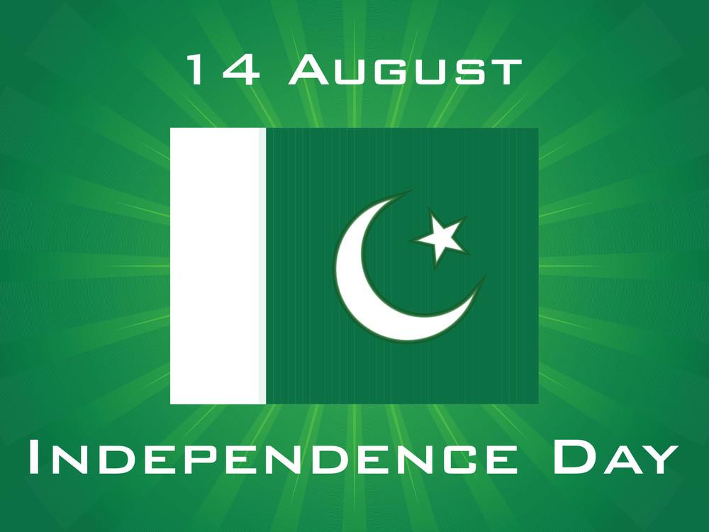Illustration For Pak Independence Day