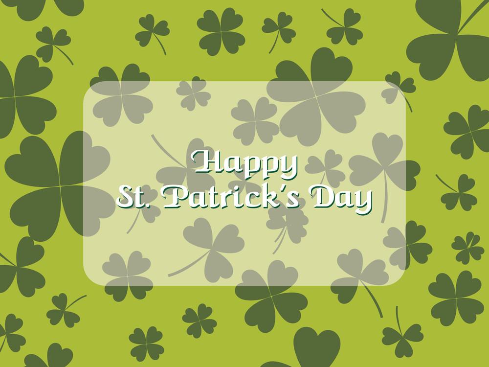 Illustration For St. Patrick's Day