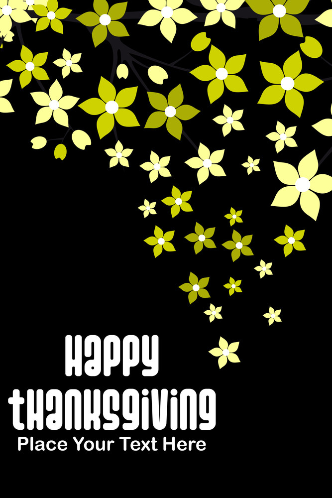 Illustration For Thankgiving Day
