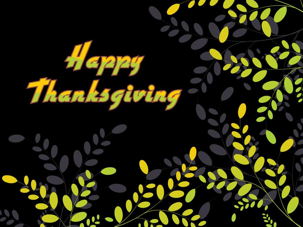 Illustration For Thanksgiving Day
