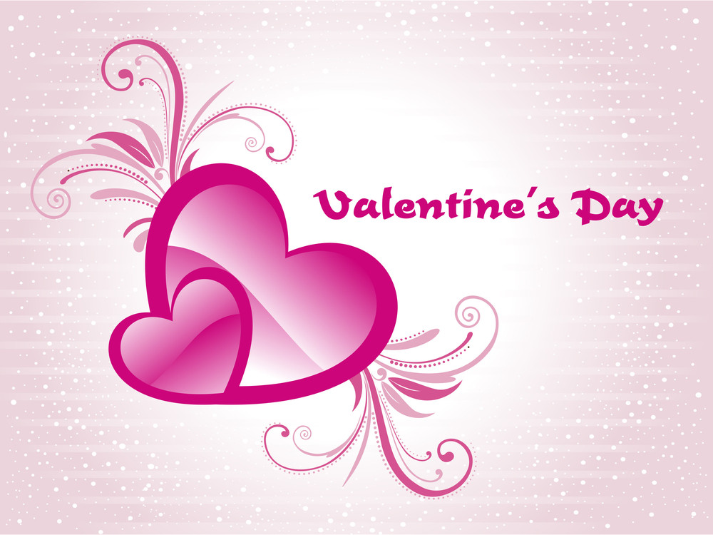 illustration for valentine day royalty free stock image