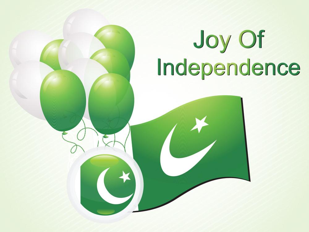 Illustration Joy Of Independence