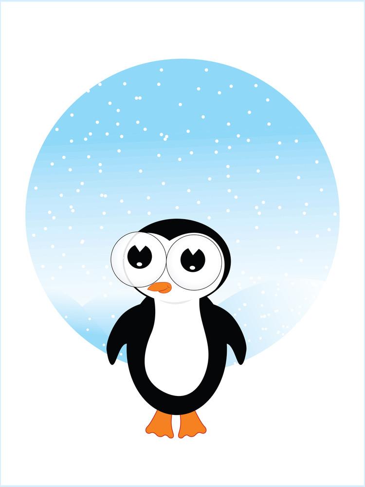 Illustration Little Penguin
