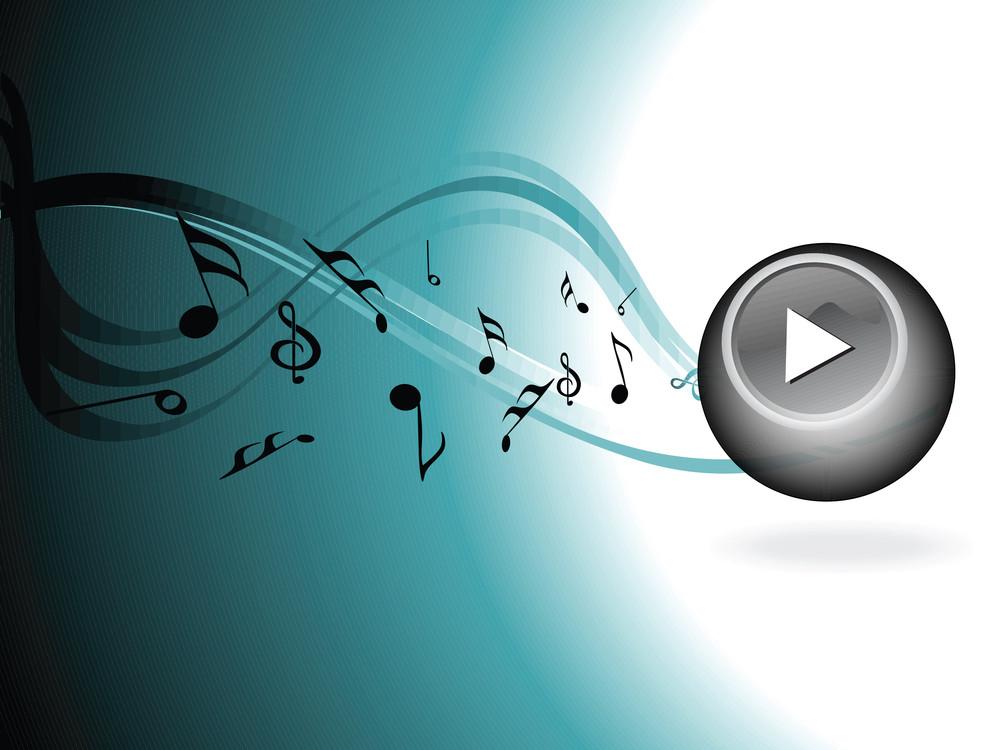 Illustration Musical Background
