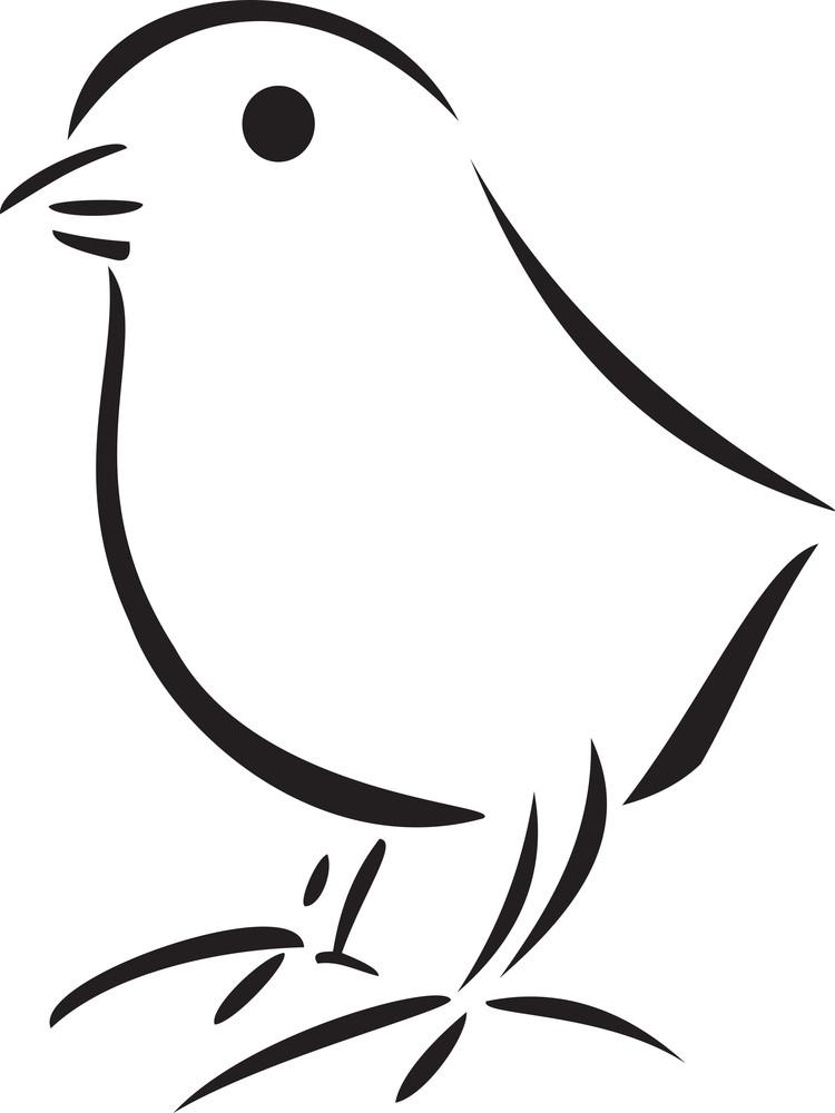 Illustration Of A Chicken.
