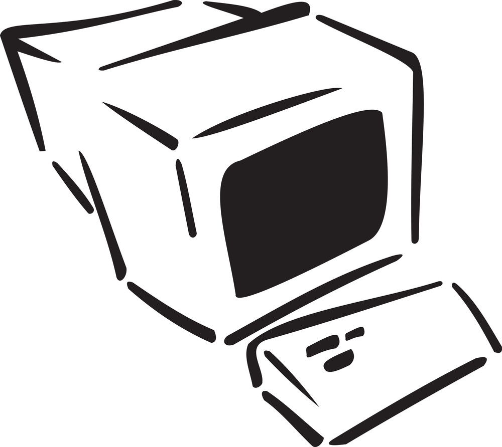 Illustration Of A Computer.