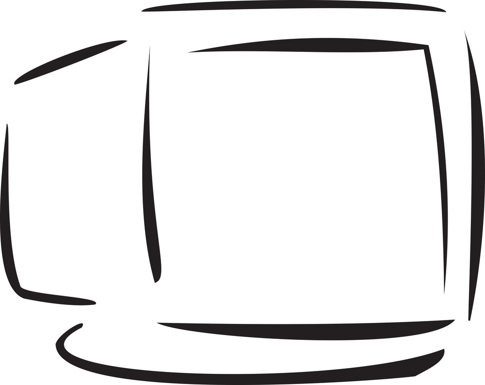 Illustration Of A Desktop.