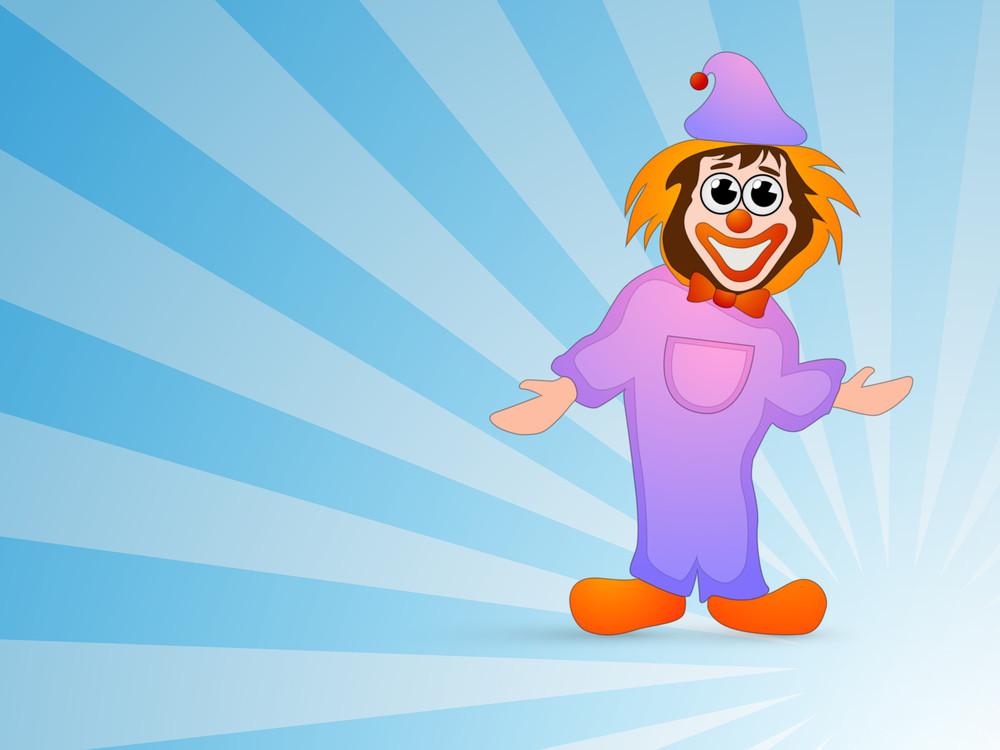 Illustration Of A Joker.