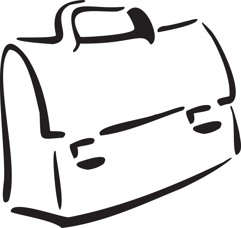 Illustration Of A School Bag.