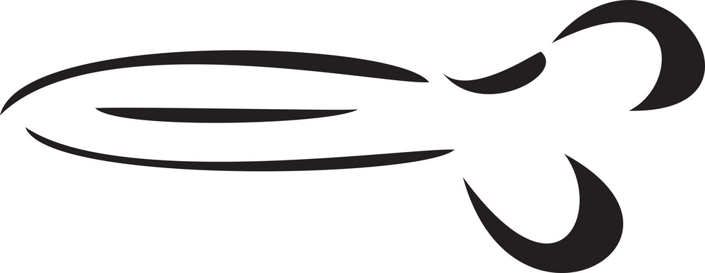 Illustration Of A Scissor.
