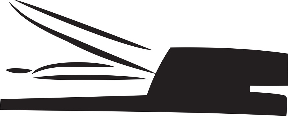 Illustration Of A Stapler.