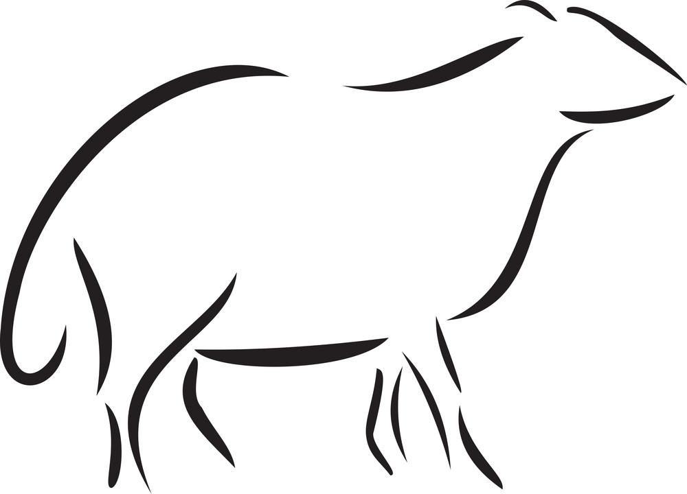 Illustration Of An Animal.