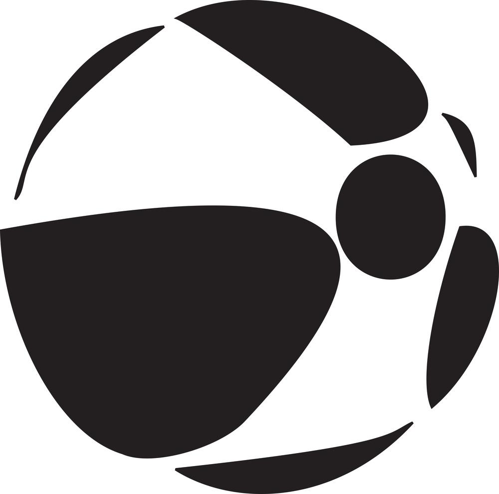 Illustration Of Beach Ball.