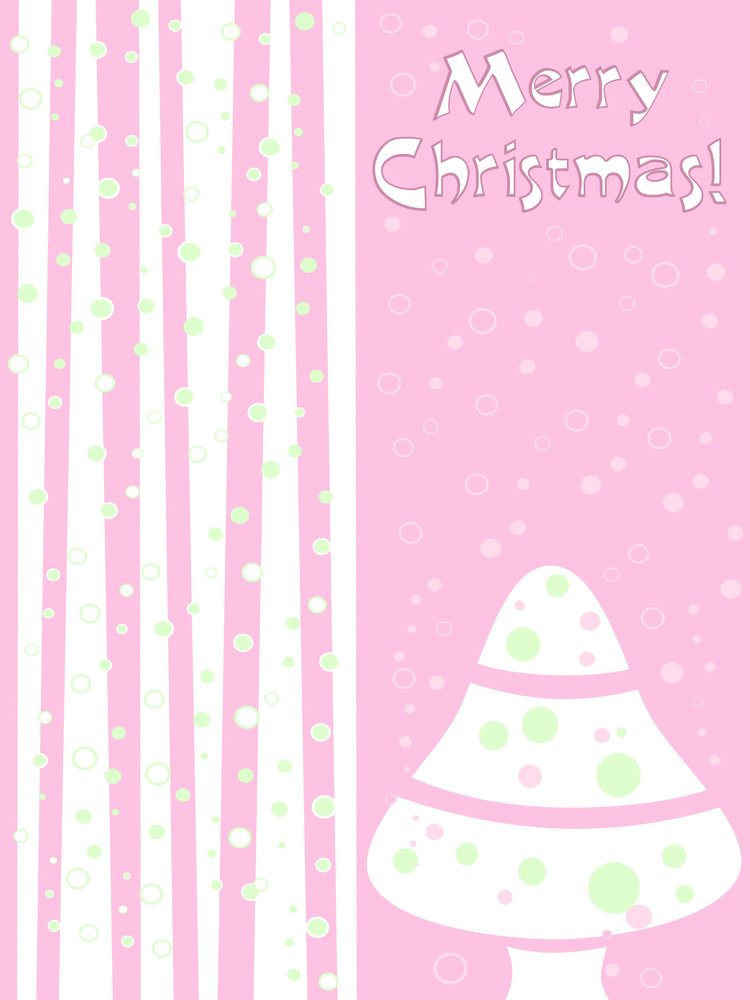 Illustration Of Christmas Day Background