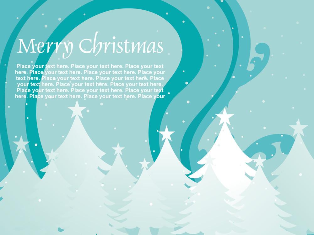 Illustration Of Christmas Wallpaper