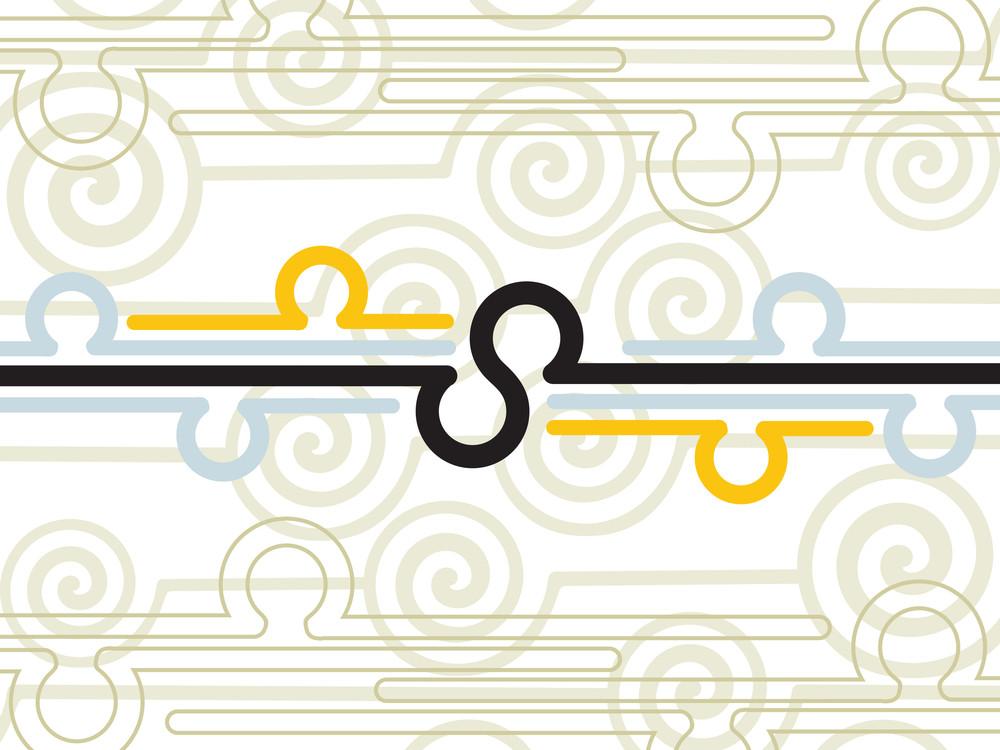 Illustration Of Digital Background