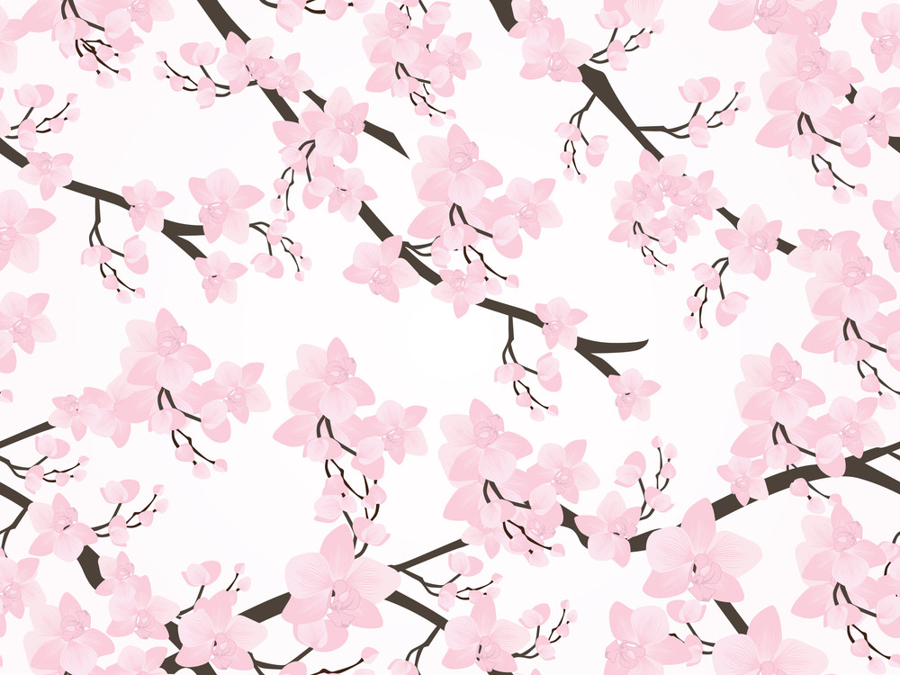 Illustration Of Floral Background
