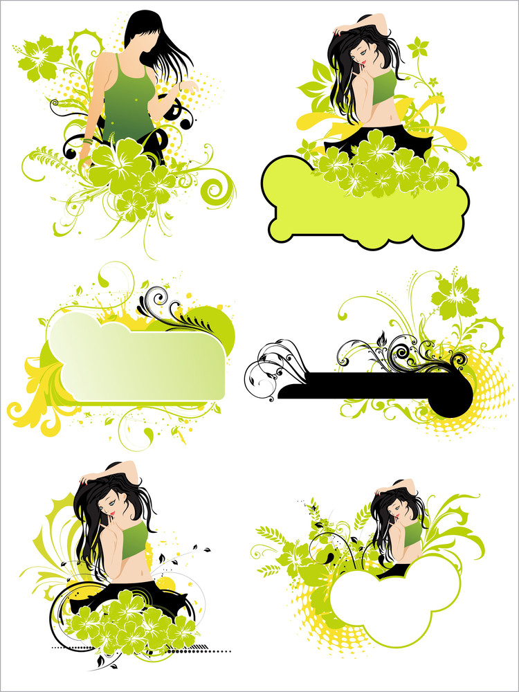 Illustration Of Grungy Pattern