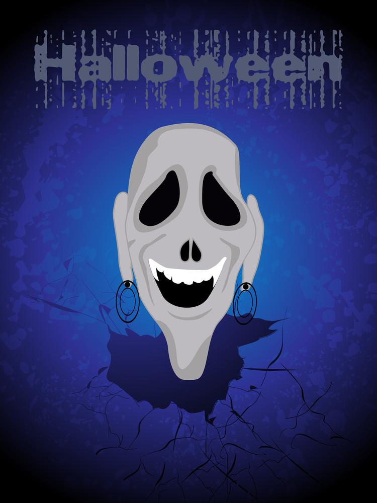 Illustration Of Halloween Wallpaper