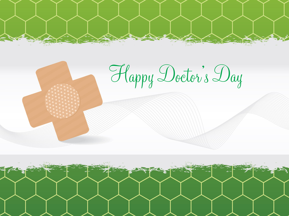 Illustration Of Happy Doctor's Day