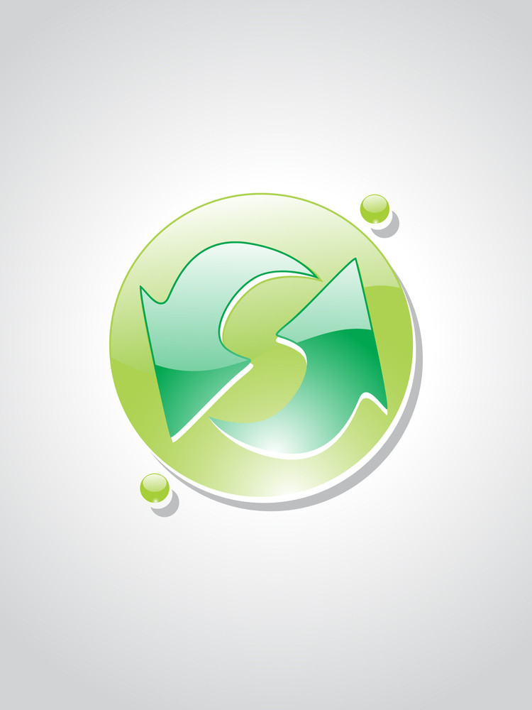 Illustration Of Isolated Eco Icons