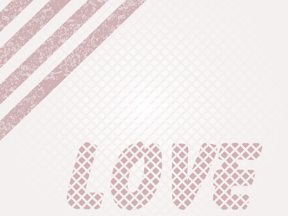 Illustration Of Love Background