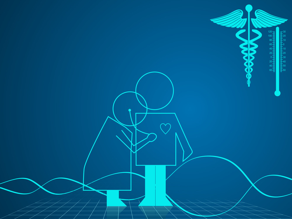 Illustration Of Medical And Healthcare Background With Medical Symbol