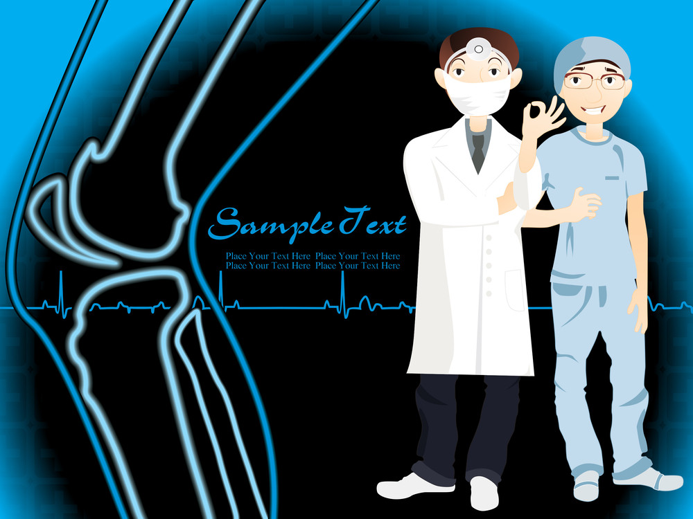 Illustration Of Medical Background