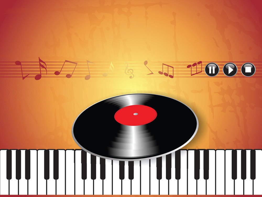 Illustration Of Musical Background