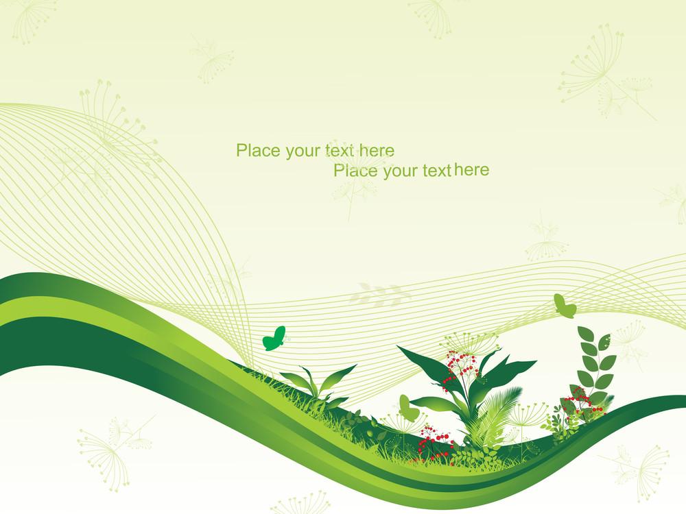 Illustration Of Nature Background