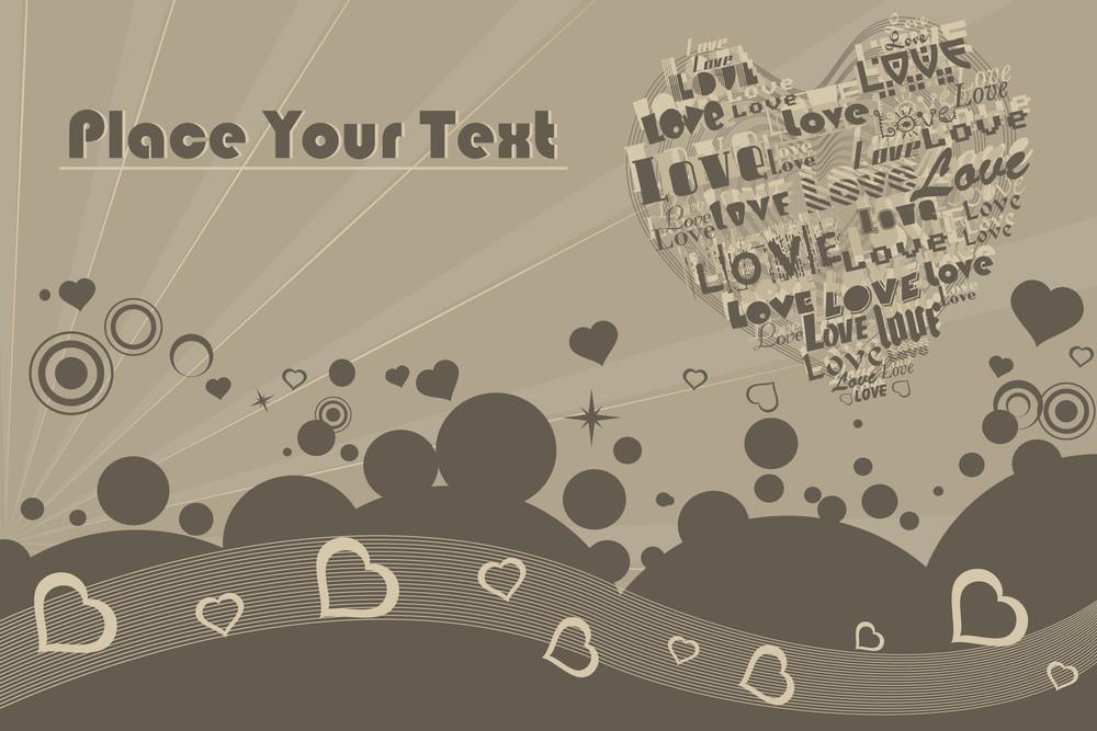 Illustration Of Romantic Background