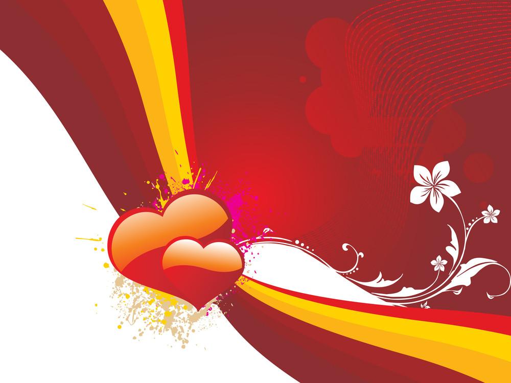 Illustration Of Romantic Heart