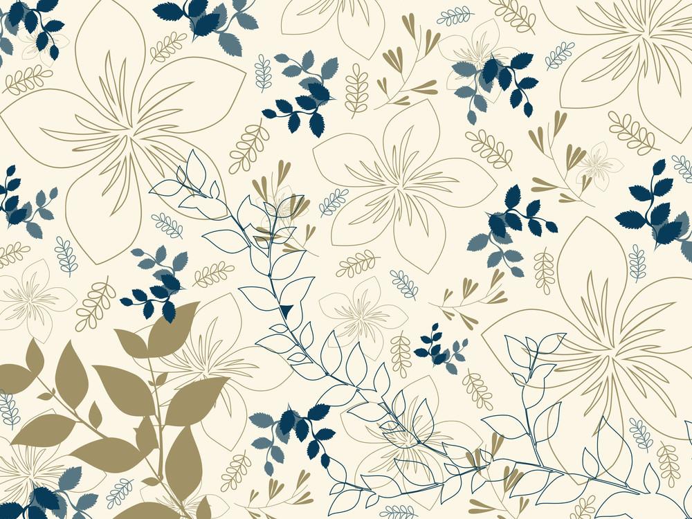 Illustration Of Seamless Pattern Background