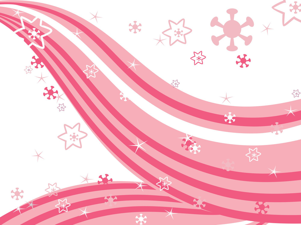 Illustration Of Stripes Background