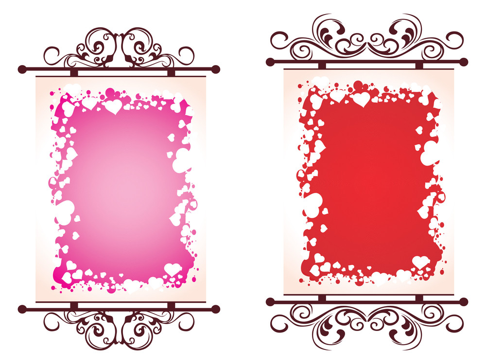 Illustration Of Valentine Day Frame Royalty-Free Stock Image ...