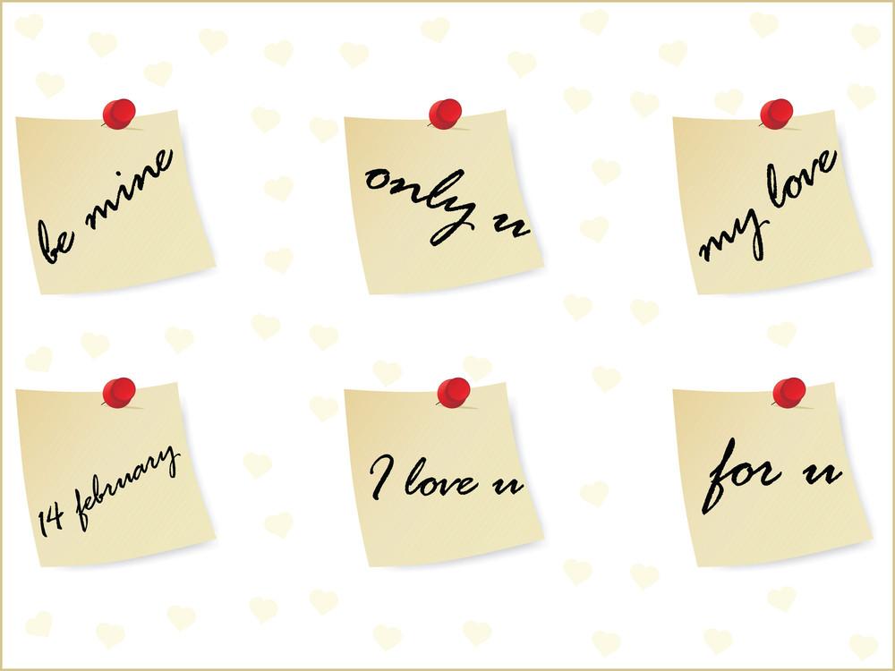 Illustration Of Valentine Day Tag