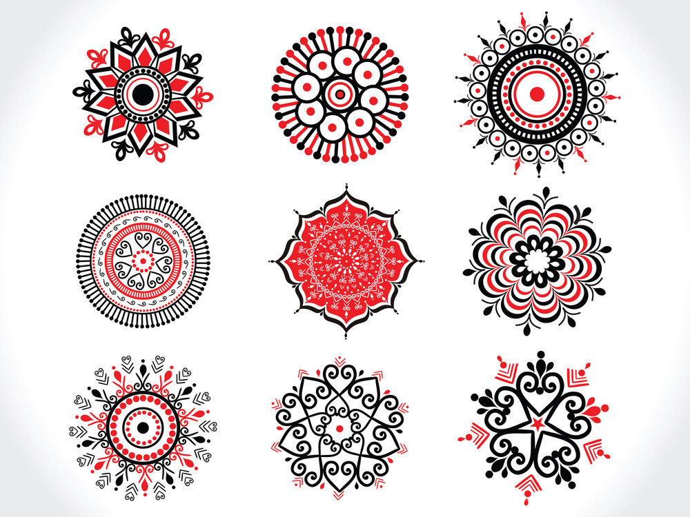 Illustration Set Of Tattoos