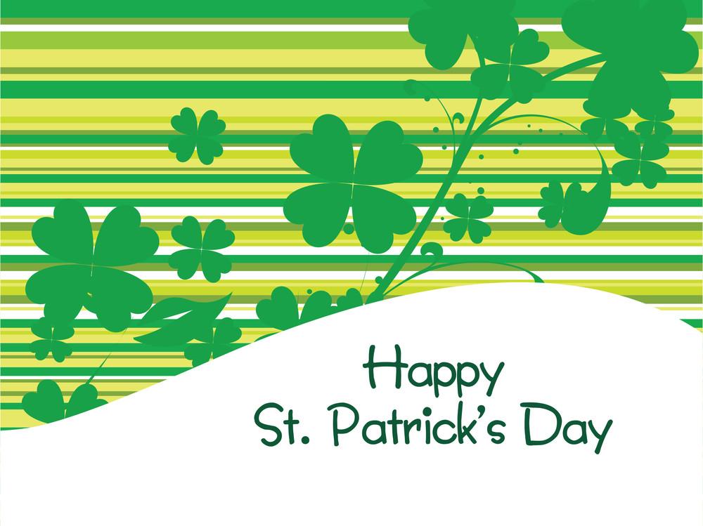 Illustration St. Patrick's Day Celebration