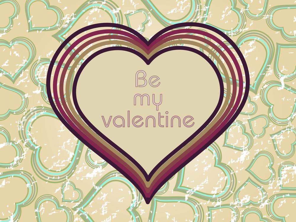 Illustration Valentine Card