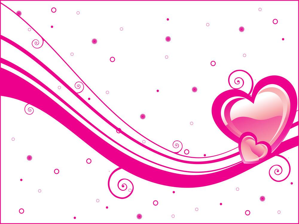 Illustration Valentine Day Background