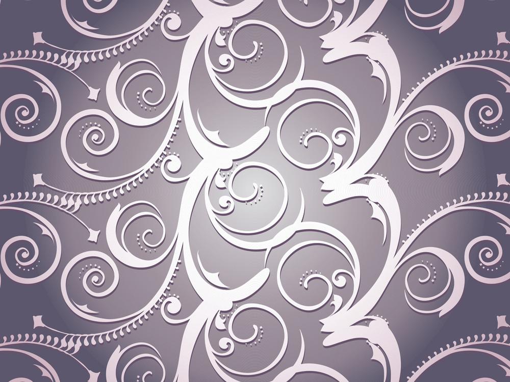Illustration Victorian Pattern