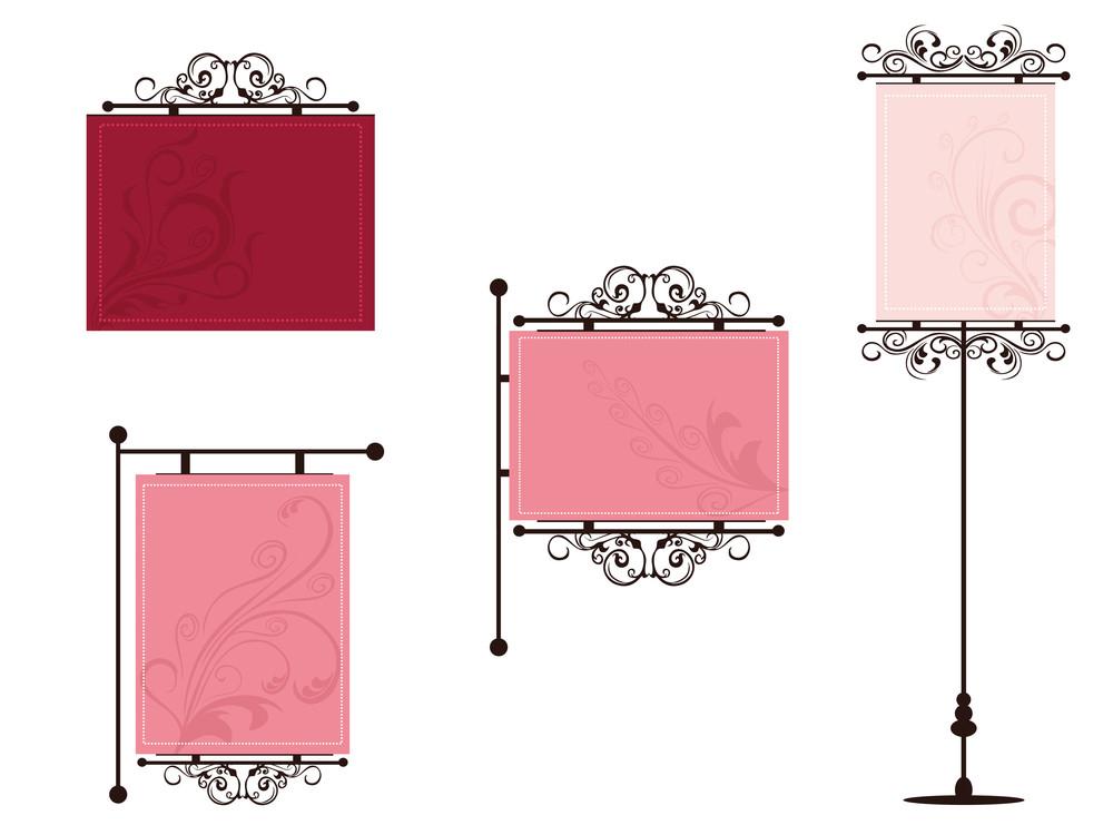 Illustrtion Set Of Frames