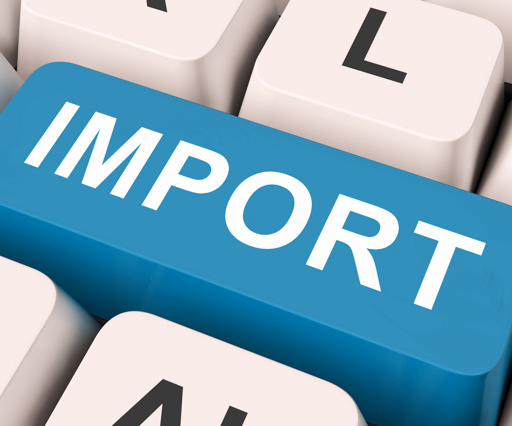 Import Key Means Importing Or Imports