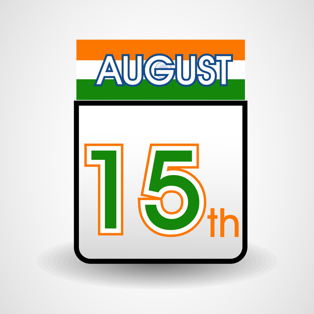 Independence Day Calender.