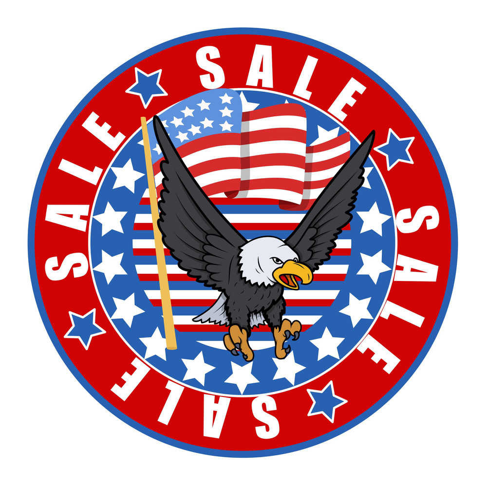 Independence Day Sale Badge