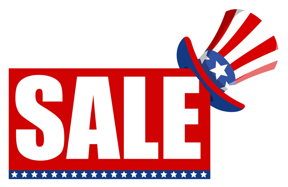 Independence Day Sale Vector
