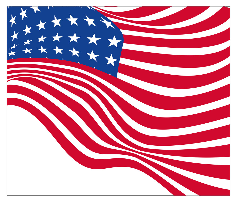Independence Day Usa Flag