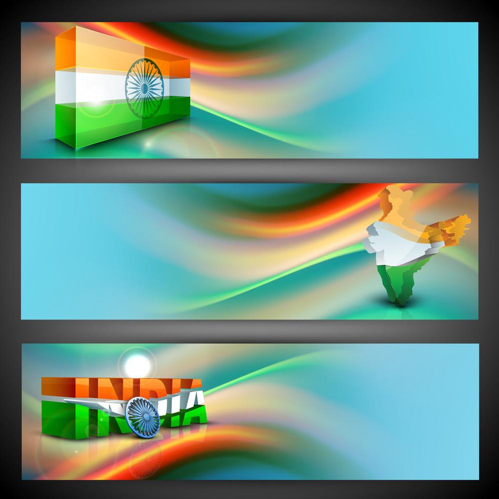 India Nation Flag Creative Design