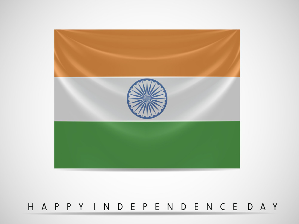 Indian Flag Waving Background For .